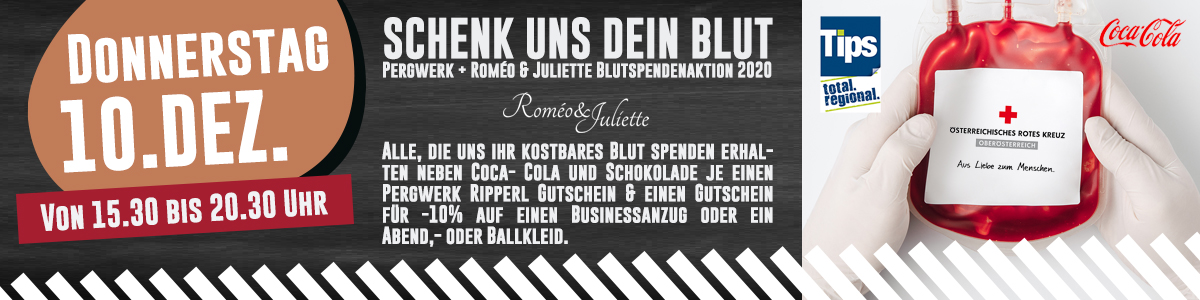 Blut Spendenaktion